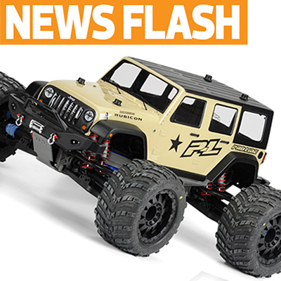 Pro-line Announces Monster-Sized Wrangler Shell, SC Bronco Body, More