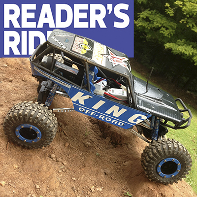 """King"" of the Trail: Tyler Puterbaugh's Axial Wraith"