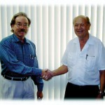Roger Curtis (left) and Gene Husting (right), the Dynamic Duo behind Team Associated.