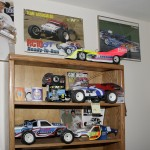 On display are everything from box art vehicles and prototypes to trucks featured in the pages of RC Car Action.