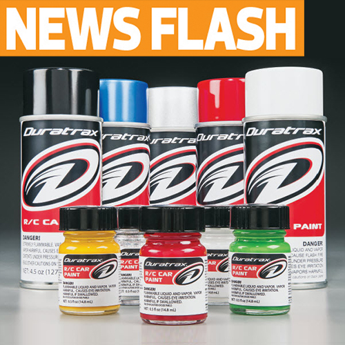 Duratrax is Now in the Paint Biz