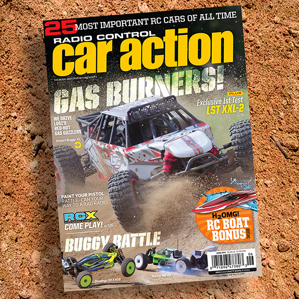 June Issue Rolling Out Now! Losi's Big Buggy, Special Boating Section, Much More!