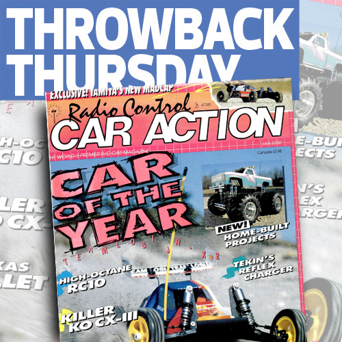 RC Car Action June 1990: Our Very First Car Of the Year Issue and A Killer Clod Project Truck!