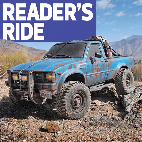High Desert Hilux: Paul Yoo's Axial SCX10