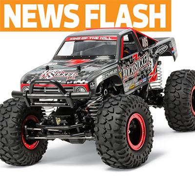 Tamiya Japan Reveals Rock Socker CR-01