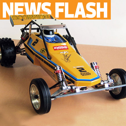 Kyosho Scorpion Re-release to debut at RCX!