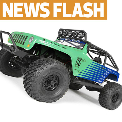 Latest Look for Axial's Wrangler G6: Falken Tires Edition — Now With Video