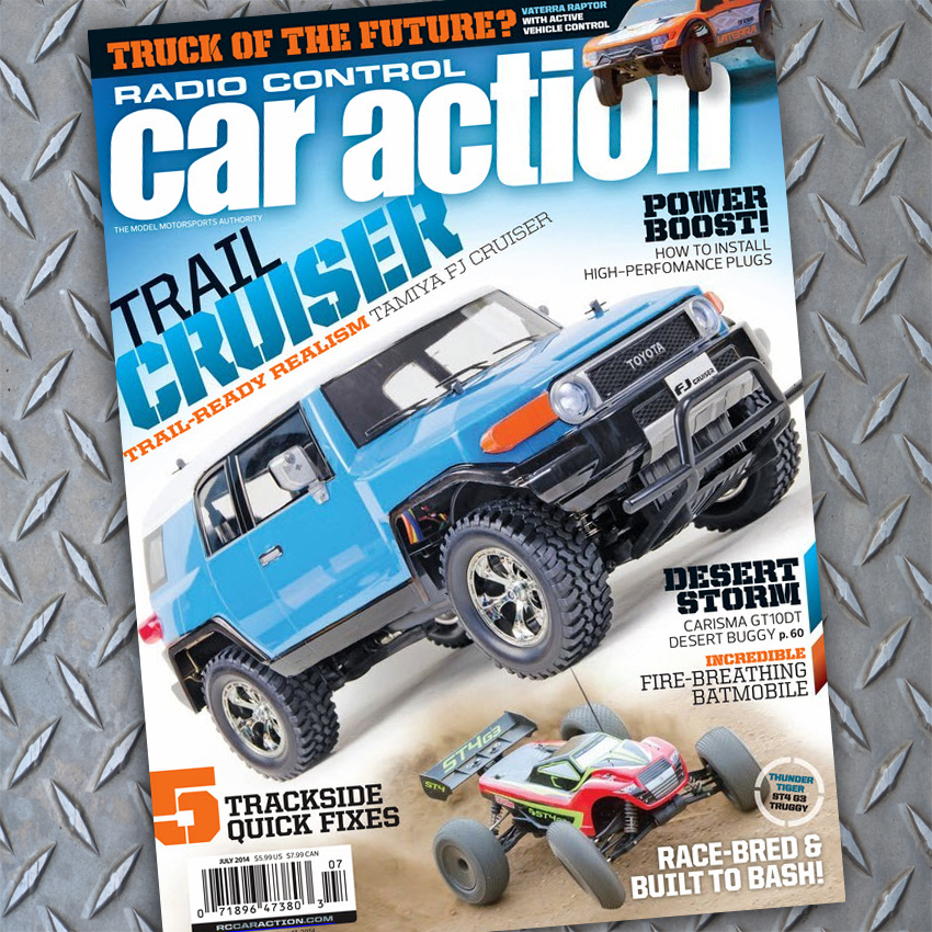 July RC Car Action, On Sale Now!