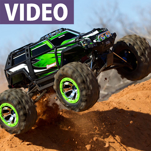 "WATCH: Traxxas Summit ""Extreme Canyon Run"""