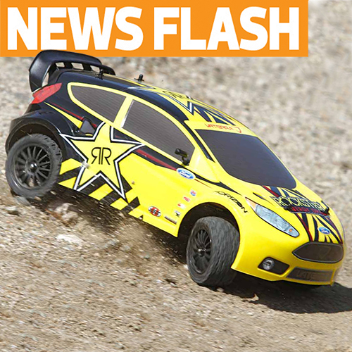 Vattera Goes Rally With Rockstar Ford Fiesta RallyCross