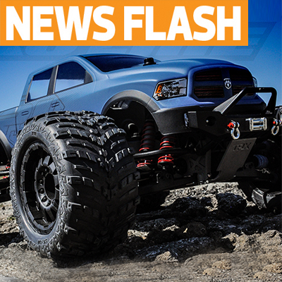 Pro-Line Readying New RAM 1500 Body For T-Maxx, Revo, Summit, Savage