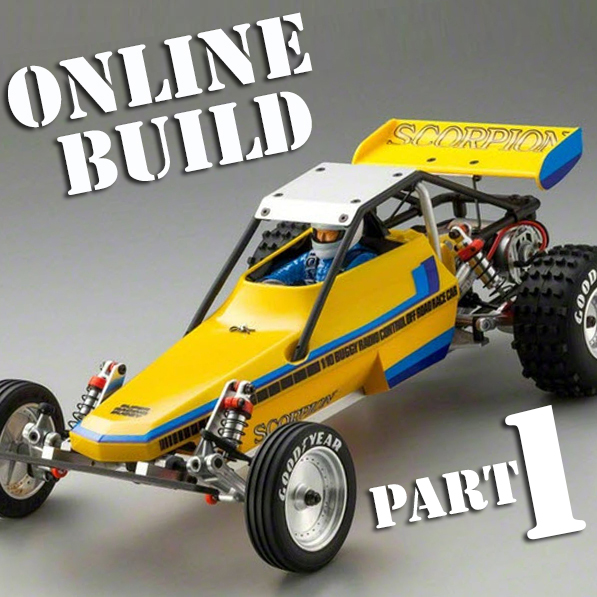 Kyosho Scorpion Online Build Part 1