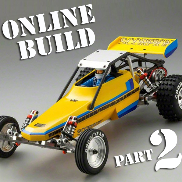 Kyosho Scorpion Online Build Part 2
