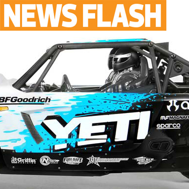 "Axial Teases ""Yeti,"" New 1/10 4WD Car"