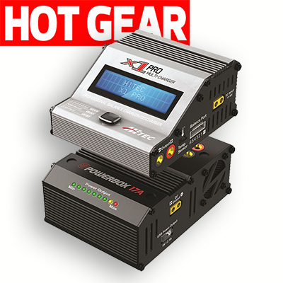 Tower of Power: Hitec's New X1 Pro Charger and ePowerBox Power Supply