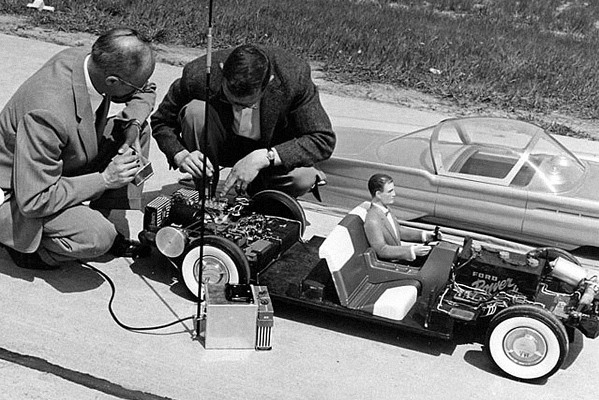 Ford Built 3 8 Scale Rc Cars In The 1950s Rc Car Action
