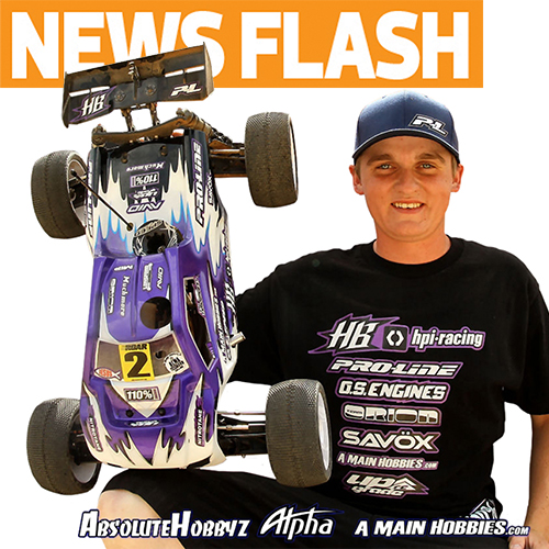 "HB Announces New ""Ty Tessmann Edition"" D8T Truggy"