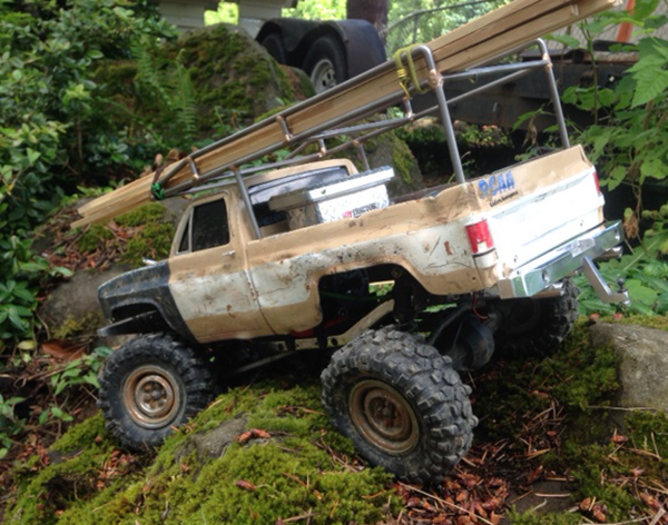 Axial R C : Matthew lane s axial scx farm truck rc car action