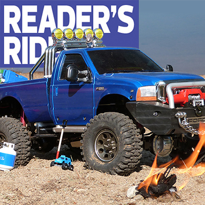 Toy-Towing Ford 4X4: Anthony Santoianni's Tamiya F-350 High-Lift