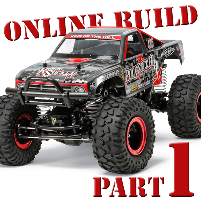 Tamiya Rock Socker Online Build Part 1