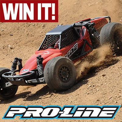 WIN a Pro-Line PRO-2 Short Course Buggy Kit–ENTER NOW!
