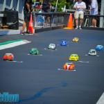 The pint sized cars in the Mini class packed a punch and exhibited some of the closest racing of the weekend.
