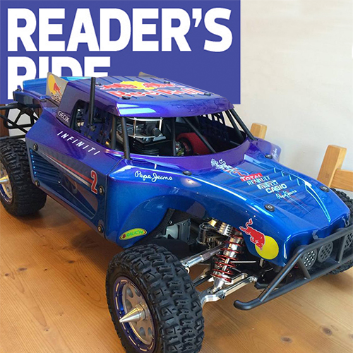 Jerome Swift's Ultra-Trick Losi 5IVE-T Build