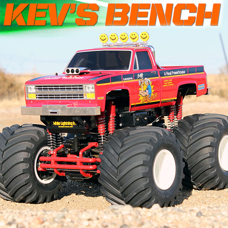 Kev's Bench: My Box Stock Tamiya Clod Buster Build