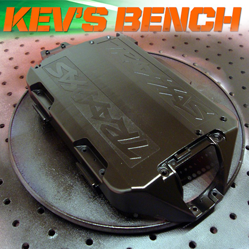 Kev's Bench: Making That Gray Chassis Black