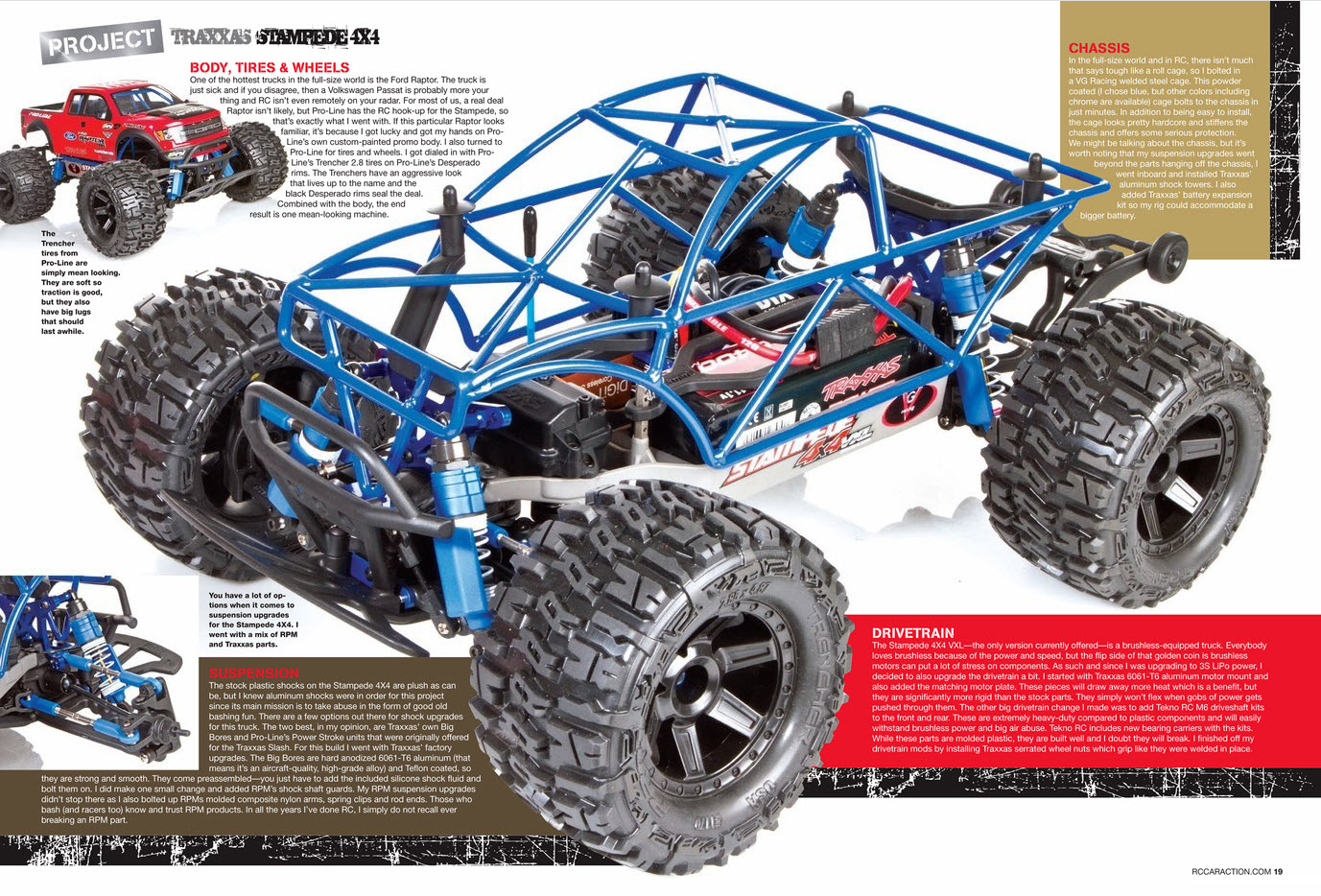 Traxxas Project Stampede 4X4