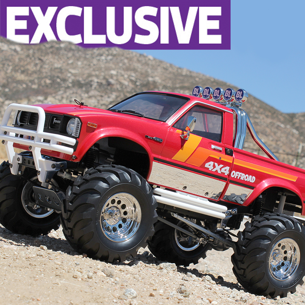 Sneak Peek: Tamiya Mountain Rider Build