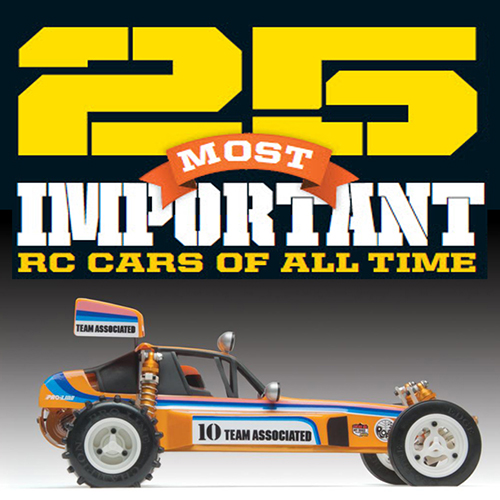 The 25 Most Important RC Cars of All Time