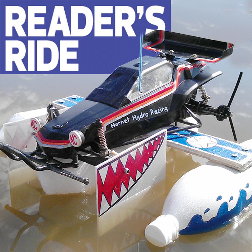 Billy Kara's Tamiya Hornet Boat Thing