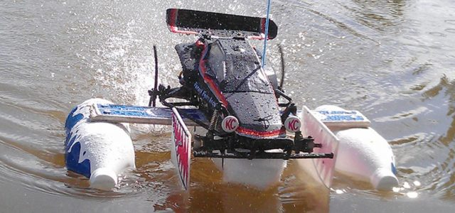 Billy Kara's Tamiya Hornet Boat Thing