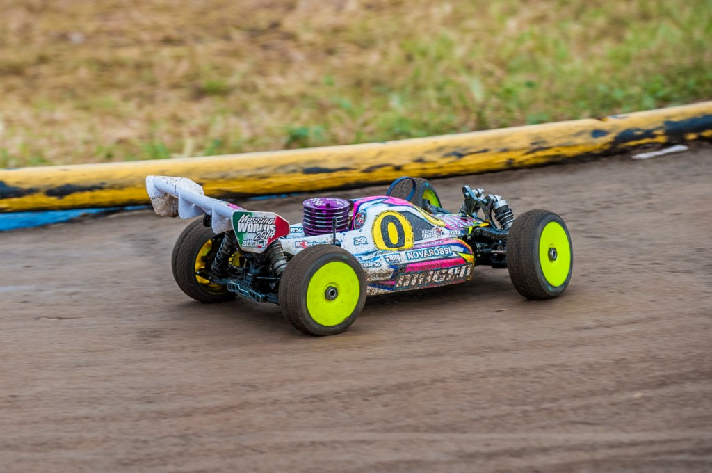 The conditions were hard on many drivers who found themselves in later heats.