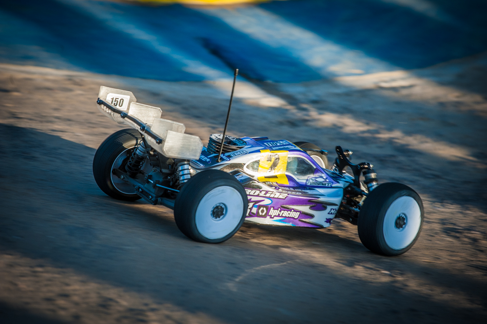 Tessmann was tested, but stayed cool for his first IFMAR World Championship.
