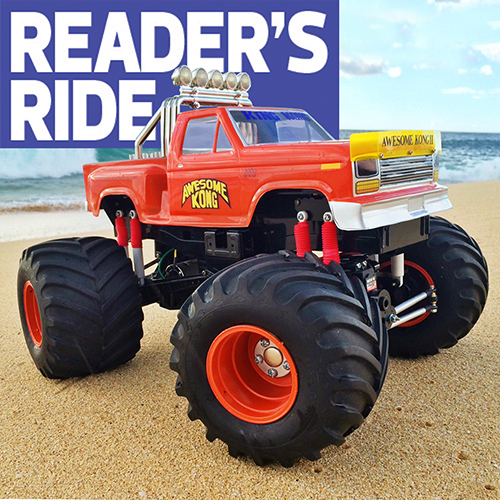 Artie Fies Awesome Kong 2 Tamiya Clod Buster Rc Car Action