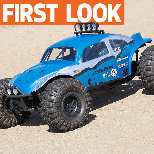 See It First: Pro-Line's VW Baja Bug for the Axial Yeti, New Blockade MT Tires