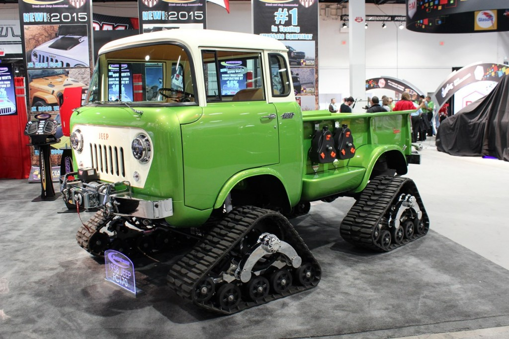 SEMA, Specialty Equipment Manufacturer Association, Las Vegas, Jeep FC170, RC4WD