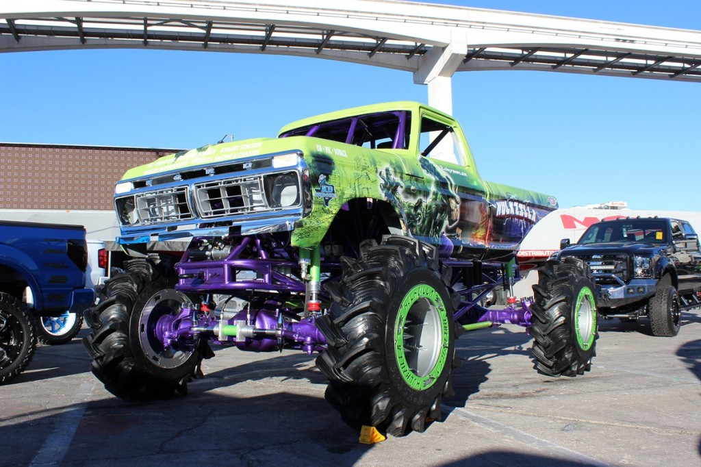 SEMA, Specialty Equipment Manufacturer Association, Las Vegas, RC4WD, HPI 1979 Ford, Huckzilla