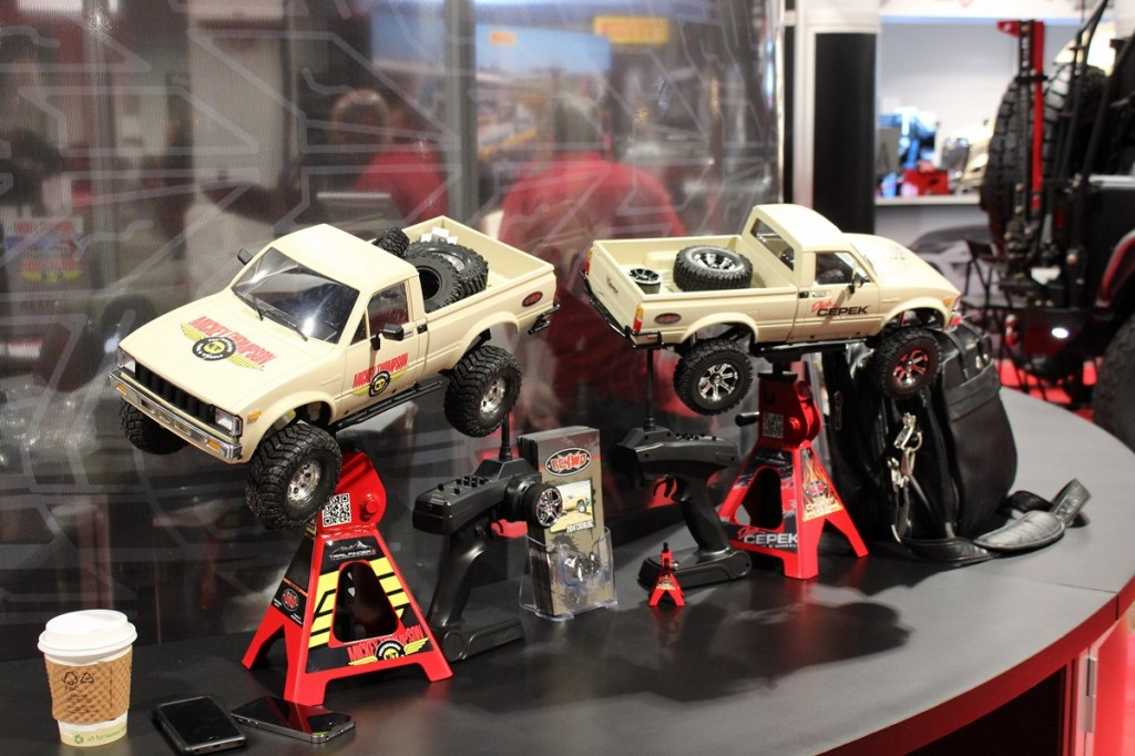 SEMA, Specialty Equipment Manufacturer Association, Las Vegas, RC4WD Trailfinder 2