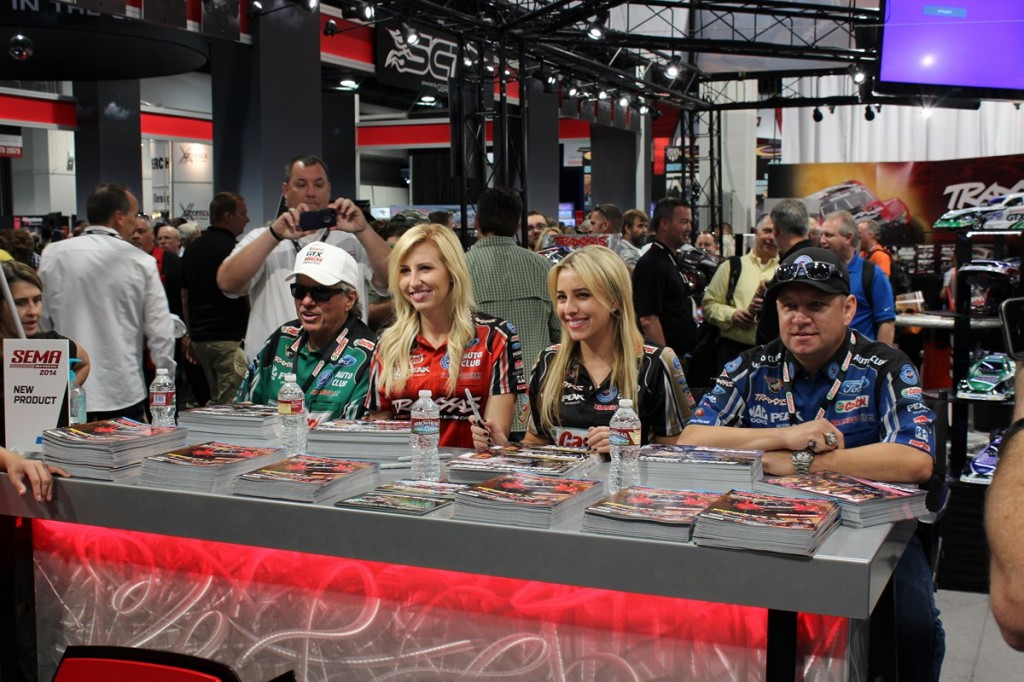SEMA, Specialty Equipment Manufacturer Association, Las Vegas, Traxxas, John Force
