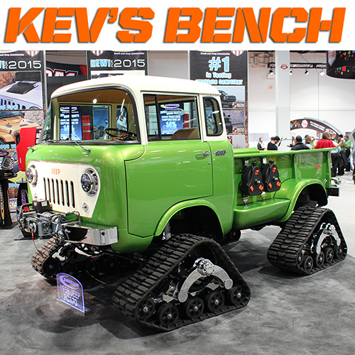 Kev's Bench: Hot Stuff Spotted at the SEMA Show