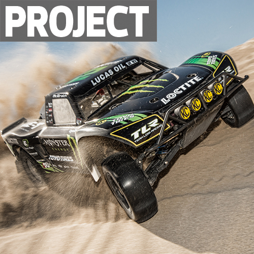 Project Build: Desert-Prepped Losi 5IVE-T