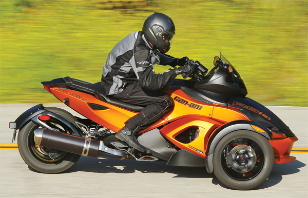 Can-Am Spyder, tricycle, three-wheeler