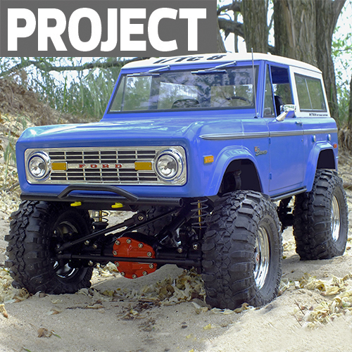 Project Build: Norm Zondervan's '73 Bronco Axial / Tamiya Scaler