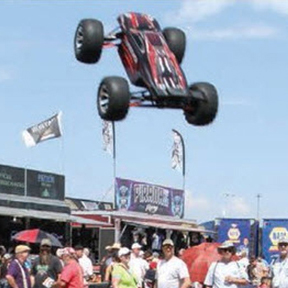 Traxxas Stunt Team Teaches Back Flips, Front Flips, and Combos