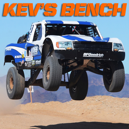 Kev's Bench: Could Trophy Trucks The Next Big Thing?
