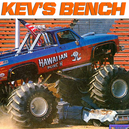 Kev's Bench: Ultimate 80's Monster Build
