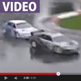 WATCH: 1/5 Scale Road Racing in the Rain